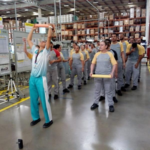 Ginástica Laboral Promoção da Qualidade de Vida no Trabalho